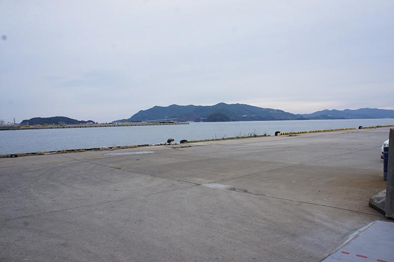 Kudamatsu Pier2:location of loading on ships